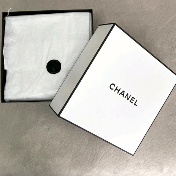Chanel Square Storage Box NEW Unused